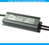 0-10v dimming dc adaptor 120w 12v led power supply constant voltage waterproof IP67