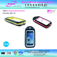 2015 Hot Sale Unique Multicolor PC Full Protective Waterproof Phone Case for Samsung Galaxy S3