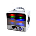 Colorful LED Lights Rechargeable Portable Speaker System karaoke speakers bluetooth