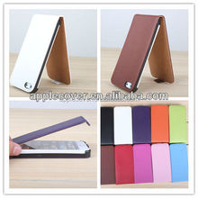 Vertical pouch leather case for iphone5/5s, flip case cover pouch,flip leather case cover for iphone 5/5s