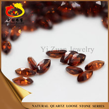 Marquise shaped natural red mozambique garnet gemstones rough for jewelry set