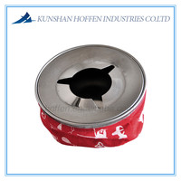 Stainless Steel Bean Bag Style Ashtray