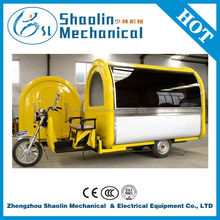 Multi-function cheap motor tricycle food cart vending with hot sale