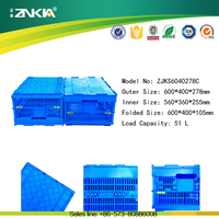 mesh type plastic storage crates for fruits retain freshness