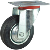 Zhongshan 200mm Swivel Rubber Wheels For