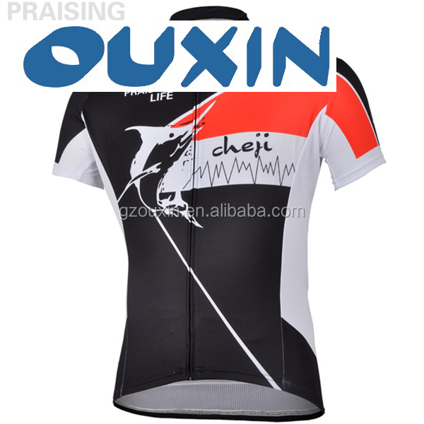 custom design sublimation bicycle suit, cheap china cycling clothing