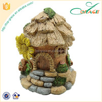 Factory custom wholesale natural fairy garden house