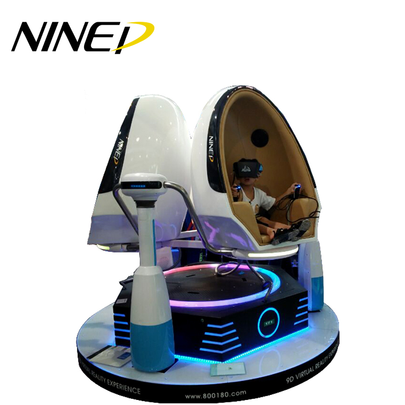 Hot sale arcade 9d vr movies virtual reality cinema children game machine 9d cinema egg vr