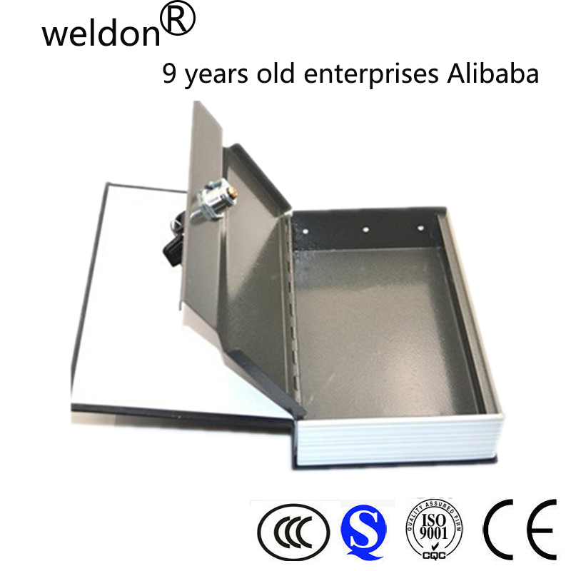 WELDON fireproof book safe