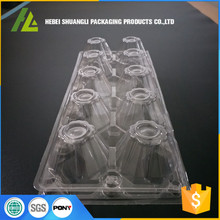 10 Holes Thermoforming Plastic Egg Container Tray