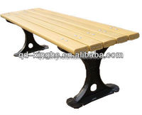 customized outdoor bench cast aluminum outdoor furniture