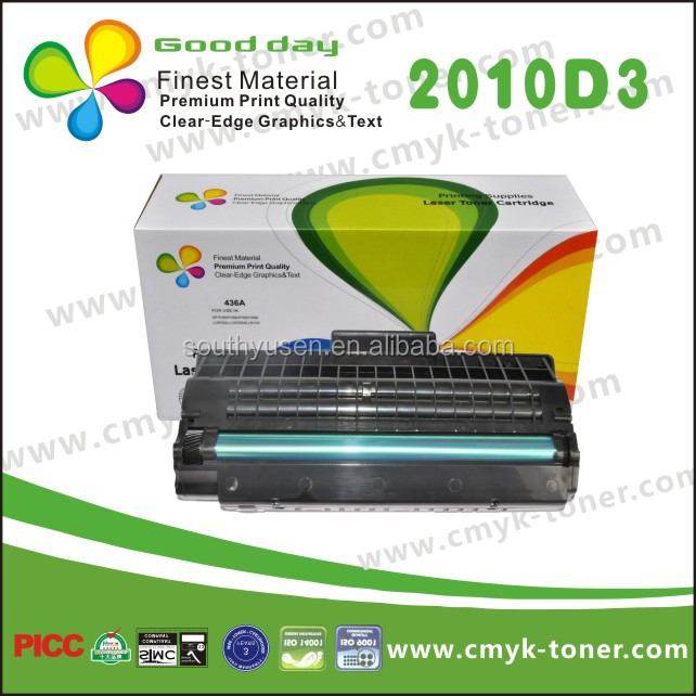 Compatible Samsung ML 2010D3 toner cartridge used on Samsung printer ML-2010/215.