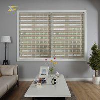 Window Covering Sheer Roller Zebra Blinds Shade Curtain Fabric