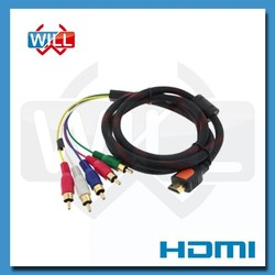 UL CE certified 1080p rca female to hdmi cable for TV