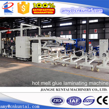 PUR Hot Melt Glue Nonwoven/Film Laminating machine