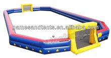 inflatable soccer court with customer's size A6021