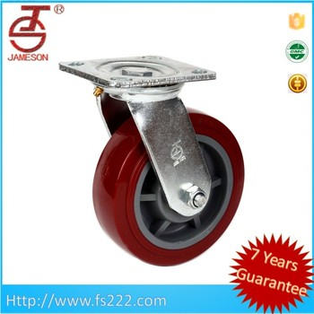 hot sale Heavy duty cart casters and wheels pvc swivel caster
