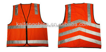 High visibility reflective vest for running KF-105