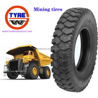 Mining tires for heavy mining truck bias tyres wear ,puncture resistance 8.25-16