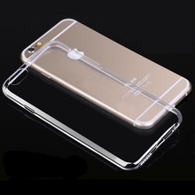 2016 Whosale For New Arrive TPU Crystal Clear Case iPhone 6,For iPhone 6 Case TPU