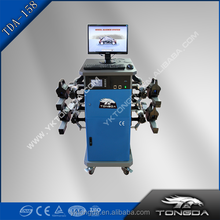 2017 TONGDA TDA 158 launch cheap used wheel alignment and balancing machine price for sale