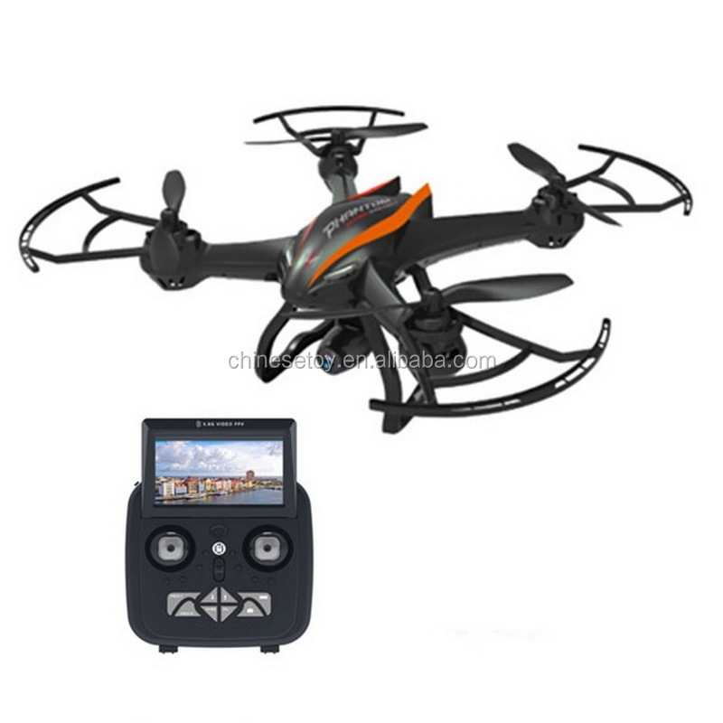 Fixed Height, 1-Key 2.0MP 720P HD Camera 5.8G FPV Video Altitude Hold 500m RC Quadcopter Camera RTF Mode 2 Professional Drone
