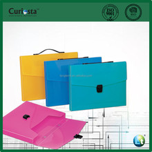 Colorful PP File Box With Soft Handle