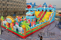 commercial grade inflatable water slides / bounce slide / inflatable equipment