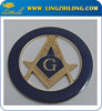 Car Emblem Zinc Alloy Car Badge, Metal Auto Accessory, Masonic Auto Logo