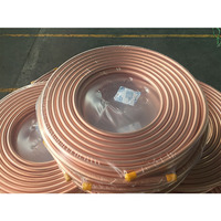 New Customized Size Refrigeration Pancake Copper Tube Coil