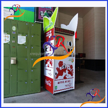 Reverse Vending Machines Recycle Plastic Bottle , Alu Can, Paper CE ROHS Standard