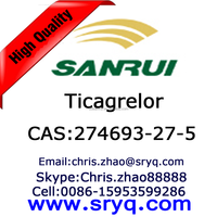 API-Ticagrelor, High purity cas 274693-27-5 Ticagrelor