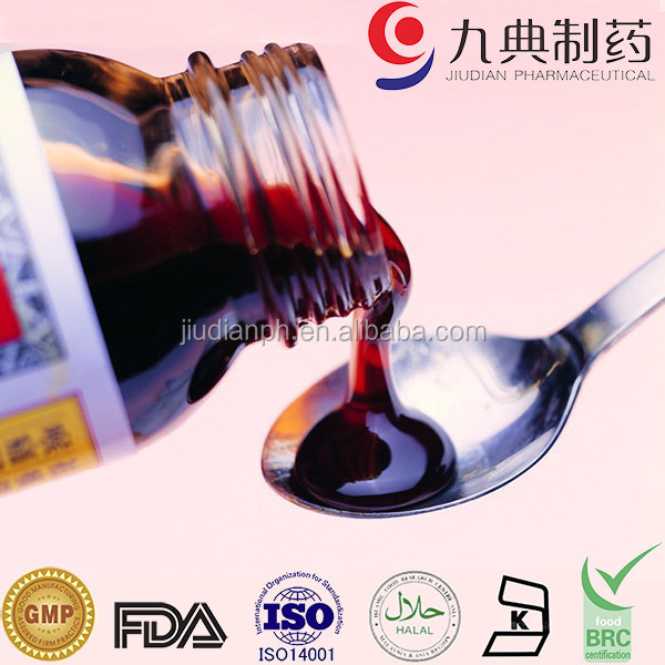 GMP Manufacturer Multivitamin Syrup For Kids