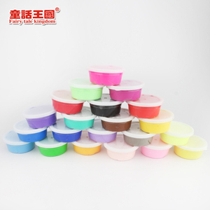 24 color super light clay for kids playing