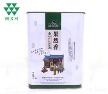 Manufacturer 2.5L Edible Peanut Oil Packing Metal Tin Can Square
