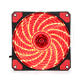 12V Red led fan with color box packing