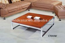 CT01SW modern wood veneer coffee table