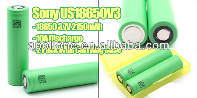 Original So-ny US18650V3 3.7V 2250mAh 10A discharge li-ion battery