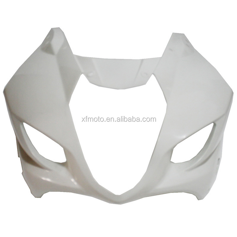 UPPER FRONT FAIRING COWL NOSE FOR Suzuki K4 K3 GSXR1000 2003-2004