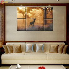 Decorative Forest Landscape Painting for Living Room