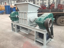 600 double shaft used tyre /plastic/ paper/steel shredder machine to Thailand