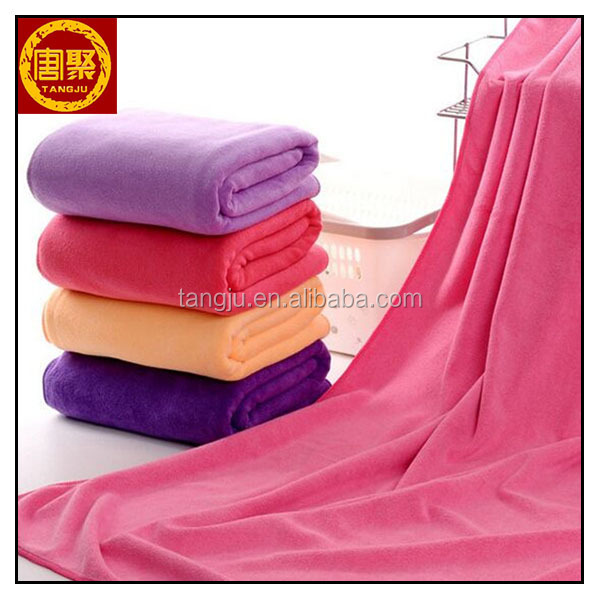 quality popular hot selling microfiber bath towel using in bathroom