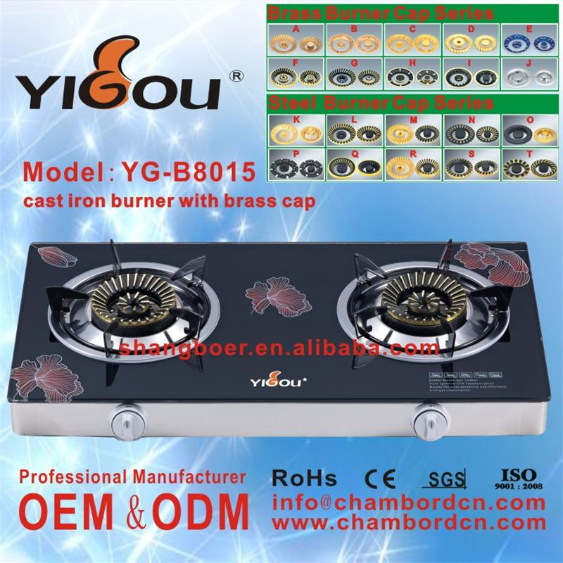 YG-B8015 infrared gas cooker names of all appliances