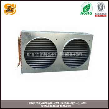 high quality Air cooled Customized laminated evaporator