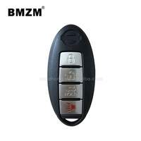 BMZM 4 buttons car remote key 315mhz for 2008 NISSAN Teana;High Quality Car Key;Supply original remote control key
