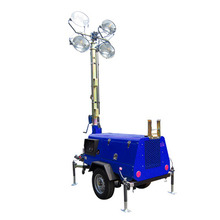 1000W*4 lights industrial portable lighting tower