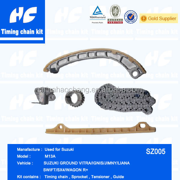 Promotion sales timing chain kit used for Suzuki/US Dollor discount /Free gift work clothes