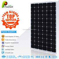 210w 36v Mono solar panel 72 cells FAST DELIVERY A grade with CEC/IEC/TUV/ISO/INMETRO/CEC certifications