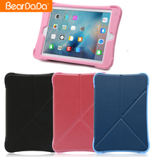 Flexible Price PU Leather Cover Silicon shock proof case for ipad mini 2,case for ipad mini 3,for apple for ipad mini 1 case