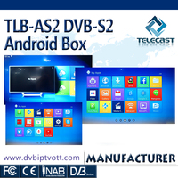TLB-AS2 DVB-S2 wholesale Android smart tv set top Box